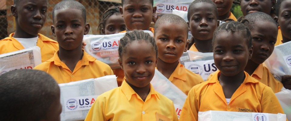 USAID is working to improve the quality of teaching and learning in Liberia