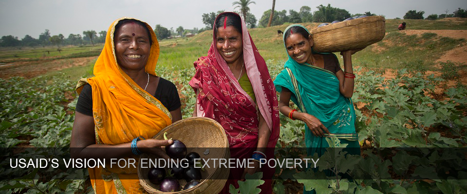 USAID Releases Vision for Ending Extreme Poverty