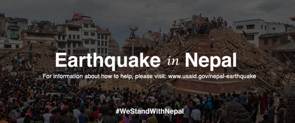 Earthquake in Nepal: For information about how to help, please visit www.usaid.gov/nepal-earthquake.