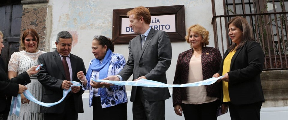 In USAID Guatemala we work with our partners in development to support prosperity, security and good governance to guarantee quality services for the population.