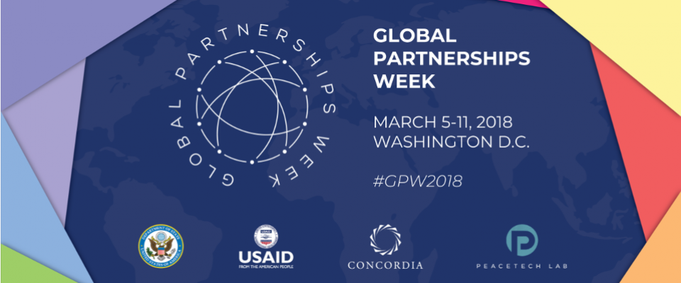 Global Partnerships Week: March 5-11, Washington DC. #GPW2018