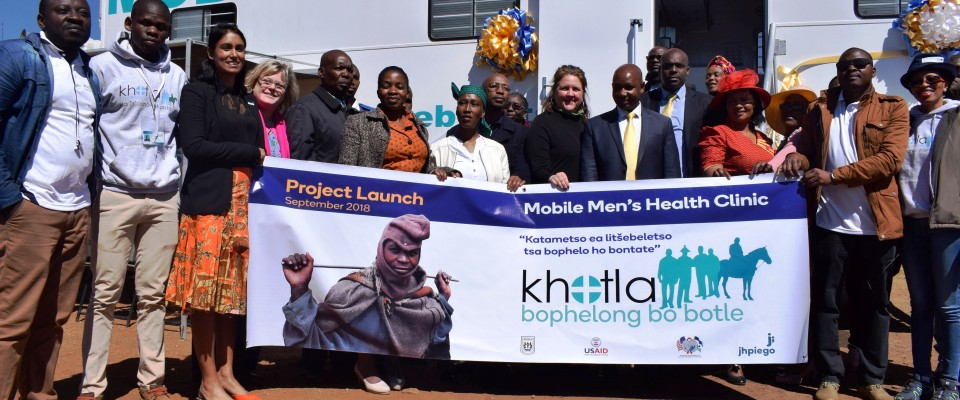 Mobile Clinics for men in Lesotho