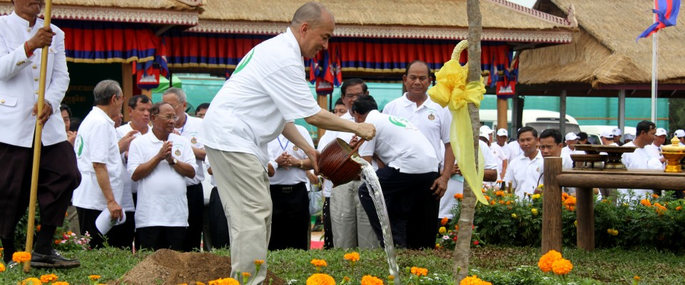 Cambodia National Arbor Day