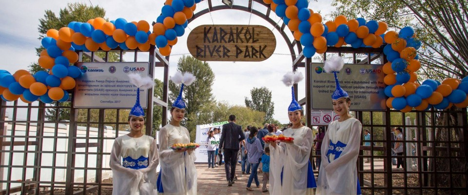 Karakol River Park Will Improve Tourism Experience