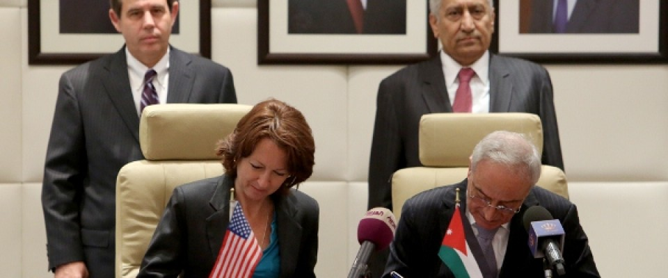 U.S. and Jordan Sign Loan Guarantee Agreement