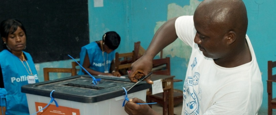 Following 14 years of war, Liberia has held two peaceful, democratic elections