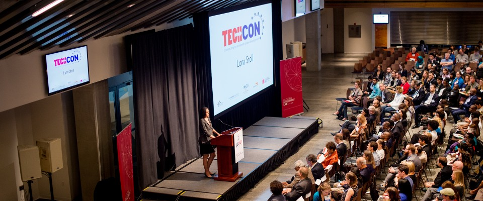 Lona Stoll at TechCon 2014