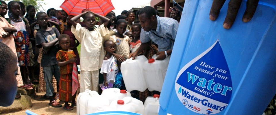 USAID distributes safe drinking water equipment in Ikom, Nigeria