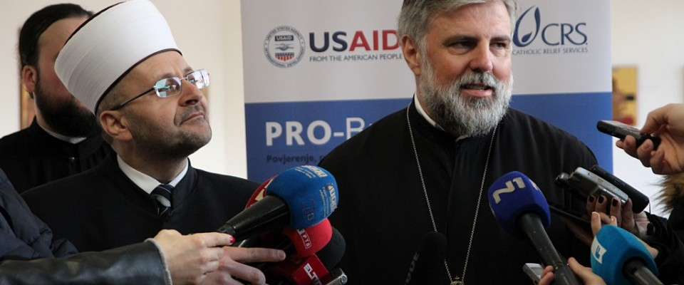 Leaders of the BiH Inter-Religious Council signed USAID's Platform for Peace in Trebinje, sending a strong joint message that stable, lasting peace is a common foundation for all peoples in BH—regardless of their ethnic or religious affiliation.
