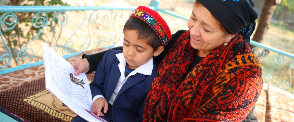 USAID seeks to create a culture of reading by working with parents, teachers, and government officials to improve reading instruction techniques and increase awareness about the importance of reading for children.