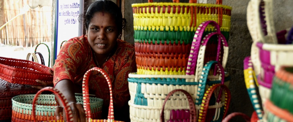 USAID support helps promote the products of rural women and link them to markets