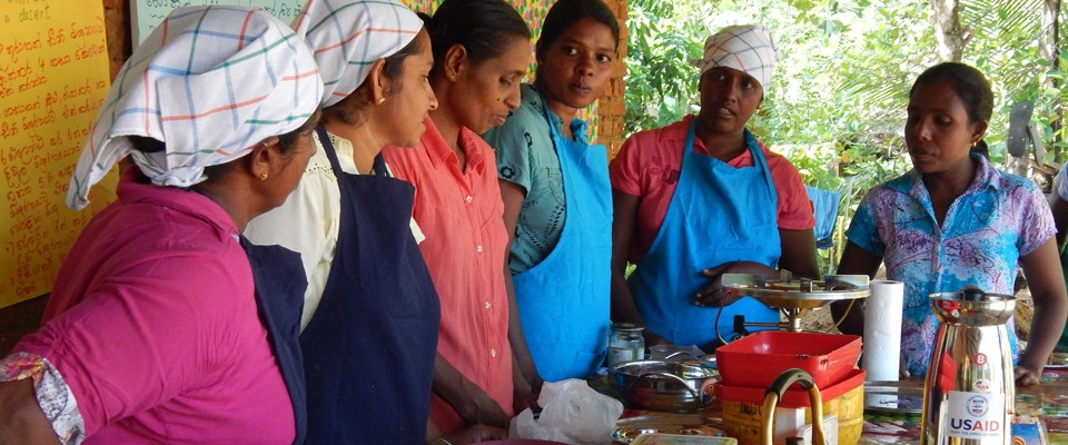 USAID is supporting rural women to improve household nutritional status by boosting the quantity and diversity of diets