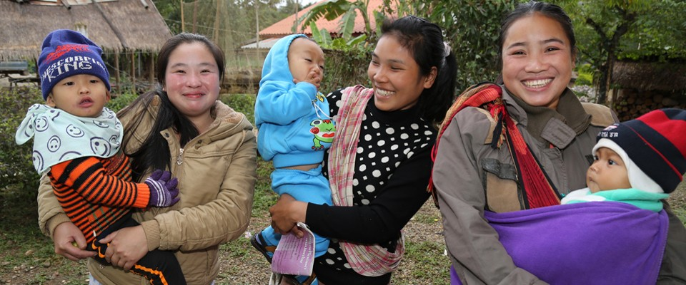 In Laos, USAID helps reduce child nutritional stunting and improve household nutrition, water, sanitation and hygiene practices.
