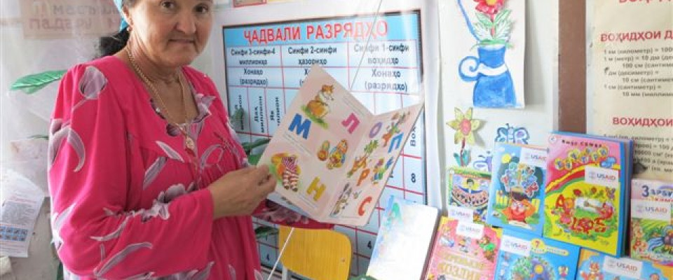 USAID handed almost 440 books for preschool children in Khatlon to foster love in reading and strengthen reading practices