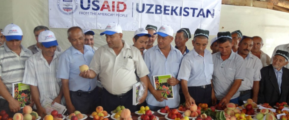 USAID programs sponsor popular Apricot Variety contests in the Ferghana Valley