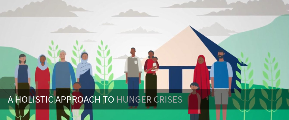Through emergency food assistance and complementary activities, USAID helps people gain the tools they need to feed themselves for years to come.