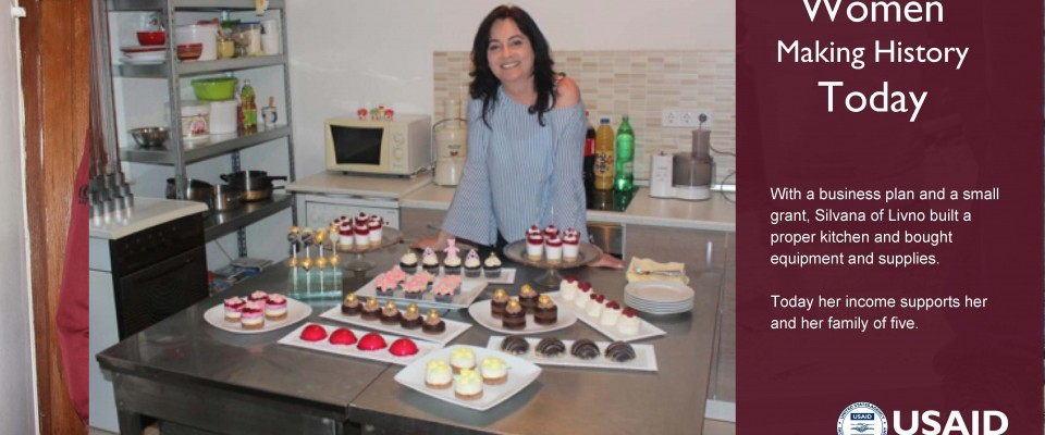 BOSNIAN BAKER TURNS CHILDHOOD PASSION INTO BUSINESS