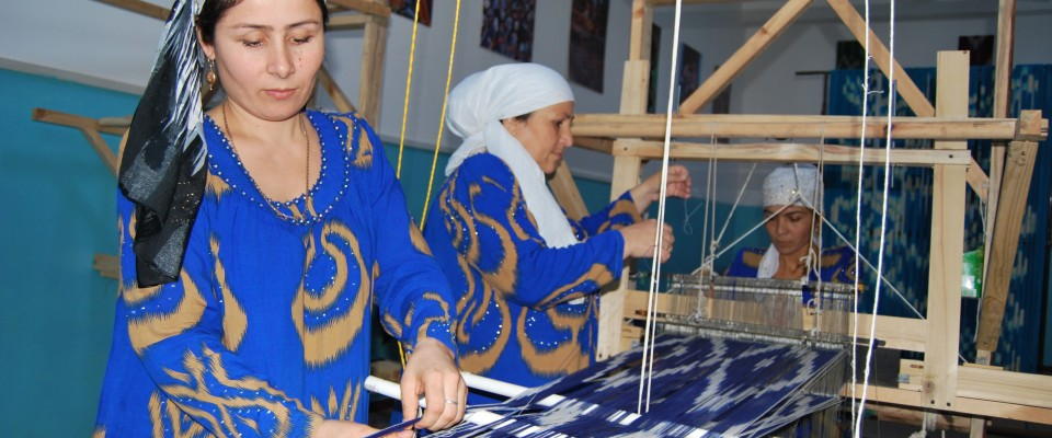 By providing job skills and training for women to create high quality products for local and international markets, USAID helps women turn lifelong skills into income-generating businesses in Tajikistan.