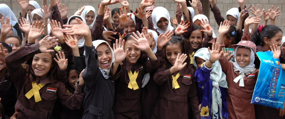 USAID provides educational opportunities for children in rural Yemen