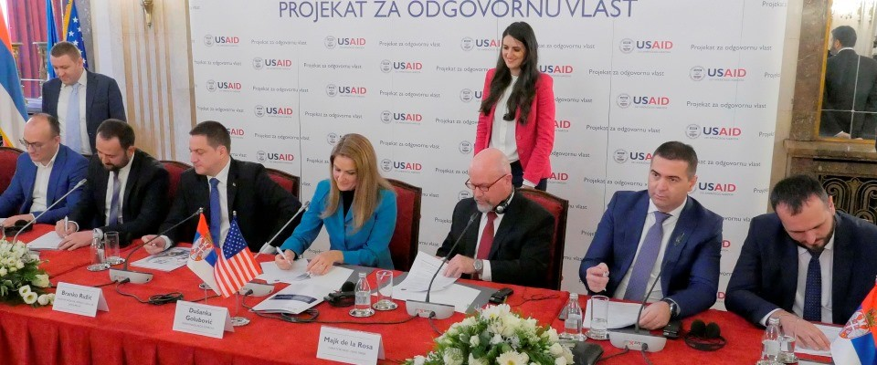 USAID and Seven Local Governments Partners to Enhance Good Governance and Fight Corruption
