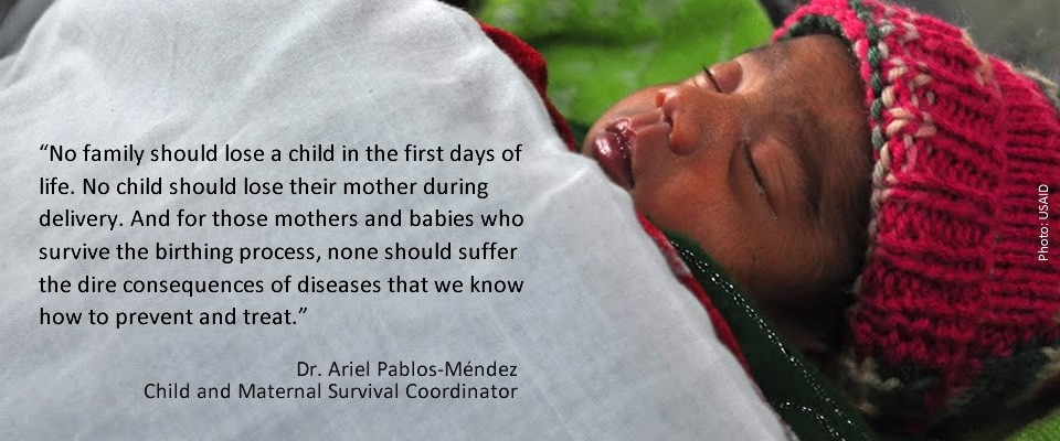 A quote from Dr. Ariel Pablos-Mendez