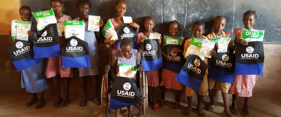 USAID's StopPalu project has distributed more than 3 million insecticide treated bed nets, reaching almost 1 million households in Guinea.