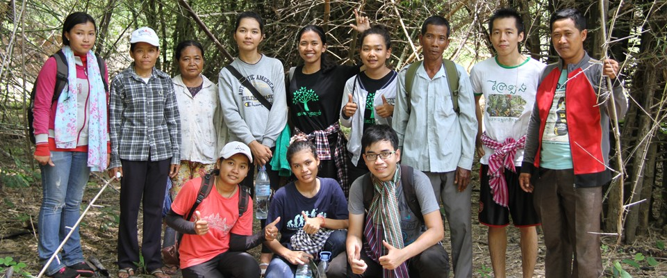 Field study at the Preah Romkel Community-Based Eco-Tourism site