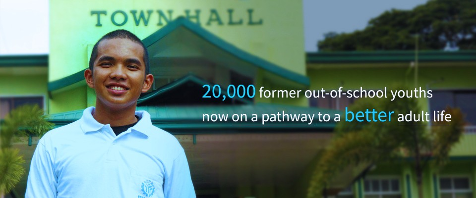 20,000 Former Out-of-school Youths Now on a Pathway to a Better Adult Life