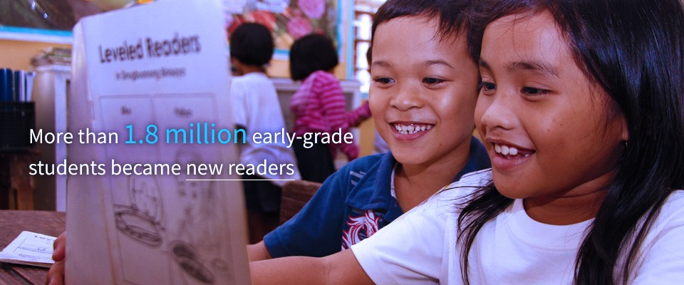 2017 Results: More than 1.8 million early-grade students became new readers