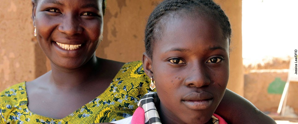 After peer education in her village, Asseta and her husband decided not to cut their 13-year-old daughter, Fatmata.