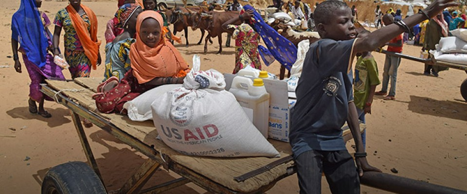 Responding to crises in South Sudan, Somalia, Nigeria, and Yemen. Photo: AFP PHOTO