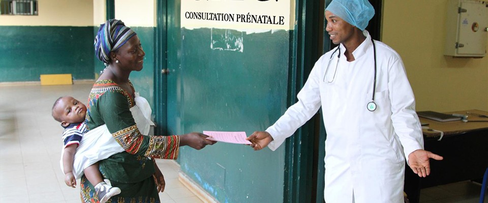 USAID has helped renovate and equip more than 20 health facilities in Guinea.