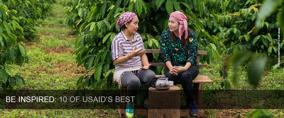 Be Inspired: 10 of USAID's Best.  Photo: Thomas Cristofoletti for USAID
