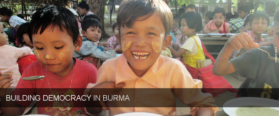 Building Democracy in Burma. Photo credit: PACT