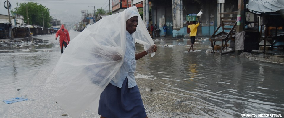 Hurricane Matthew made landfall in southwestern Haiti early Tuesday, crashing ashore as a powerful Category Four storm.