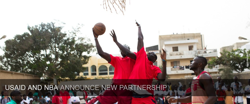 USAID and NBA Announce New Partnership