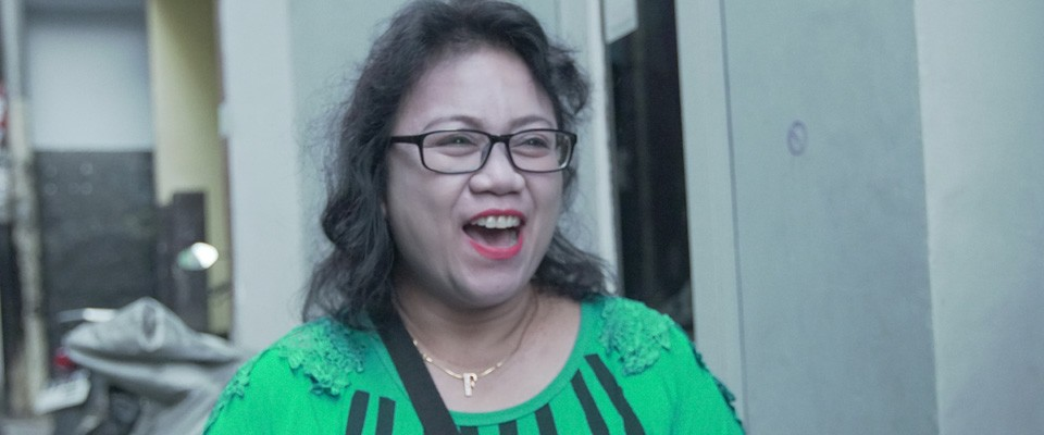 Ida Farida is a volunteer community health worker in Jakarta, Indonesia, who volunteered through the USAID Community Empowerment Against Tuberculosis project to help people in her community access and benefit from needed health care.