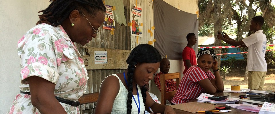 Liberia Voter Registration Exercise