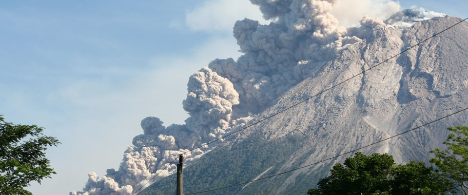 Mt. Merapi is one of the world's most hazardous volcanoes. VDAP travels around the world to help countries prepare for and respo