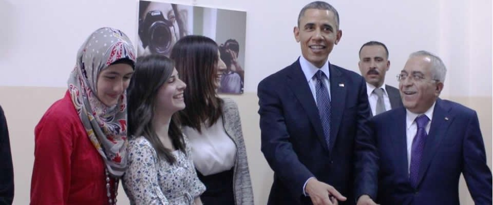 President Obama Meets With Palestinian Youth
