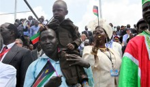 South Sudan Independence Day celebrations, July 9