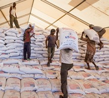 Medium: Facing Famine. Photo Credit: Petterik Wiggers, WFP