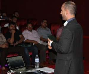 A training on strategic communications opens dialogue between government and constituents.