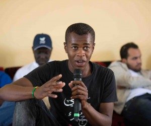 Youth in Ghat voices his opinions on Libya's future