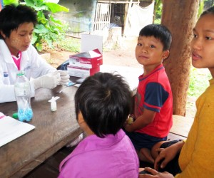 Mobile Volunteer Malaria Workers Drive Down Cases in Rural Burma