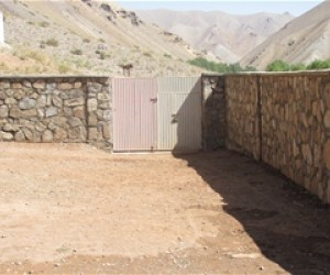 The surrounding wall has immensely secured the learning environment for girls in Seya Dara Sufla Village.