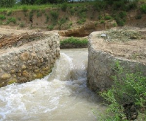 Increased water flow has rejuvenated agriculture in the Bala Murghab river valley. The renovation of two key canals has raised i