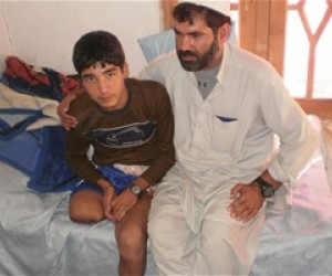 Tamim lost both of his legs in the Taliban attack.