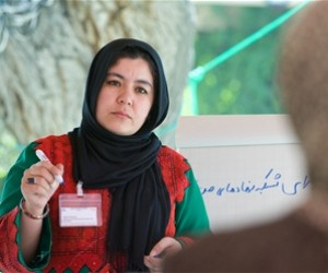 - Zahra Hasanpur, Managing Director of Women Activities and Social Services Association in Herat Province.