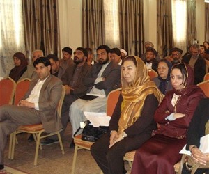 Members of Parliament participate in an anti-corruption coalition meeting